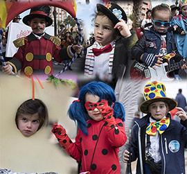 Desfile infantil en Carnestoltes del Grao de Castellón