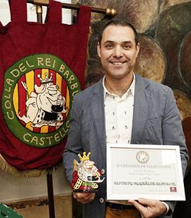 Alberto González Alguacil gana el concurso de relatos cortos Colla del Rei Barbut