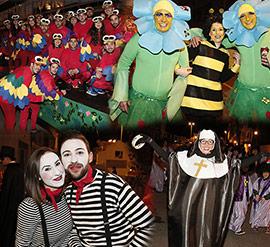Gran desfile del carnaval del Grao Carnestoltes