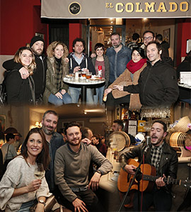 Fiesta de aniversario de El Colmado en Castellón