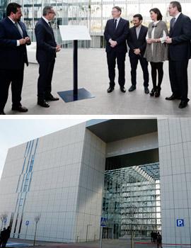 Inauguración de la primera fase de la Facultad de Ciencias de la Salud