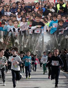 VIII Marató Infantil Salera en el Parque Ribalta