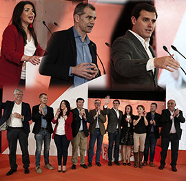 Albert Rivera se reúne en Castellón con los afiliados de Ciudadanos