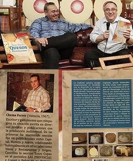 Presentación en Argot del libro de quesos valencianos de Chema Ferrer