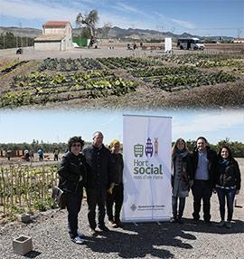 Presentación de Mas d´Enriera, proyecto de huertos sociales en Castellón