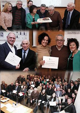 Reconocimiento a voluntarios y colaboradores por su apoyo a la II AECCC Castellón en marcha