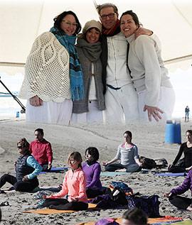 Festival de Yoga de Primavera en la Playa del Pinar