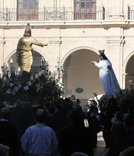 Procesión del Encuentro de la Semana Santa de Castellón