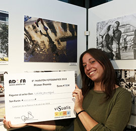 Laida Jauregui gana el Maratón Fotográfico Castellón 2018