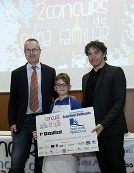 Lope Balboa gana el 2º Concurso Provincial de Cocina Familiar de Castellón