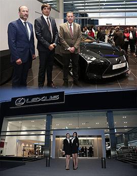 Inauguración de las nuevas instalaciones de Lexus Castellón