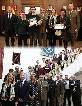 Entrega de premios del concurso escolar ´Carta a un militar español´
