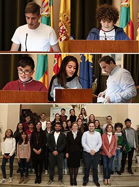 Pleno de la Infancia celebrado en el Ayuntamiento de Castellón
