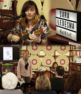 Presentación en la librería Argot de Aware de Sara Lesma