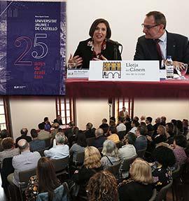 Presentación del libro de la profesora Rosa Agost que recopila la historia de la universidad pública castellonense