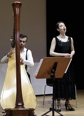 Concierto de Sandrá Ferró y Jaume Gimeno