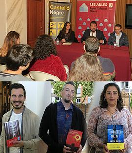 Tertulias culturales con escritores como parte del ciclo Castelló Negre