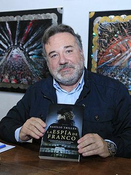 Basilio Trilles presenta su novela La espía de Franco