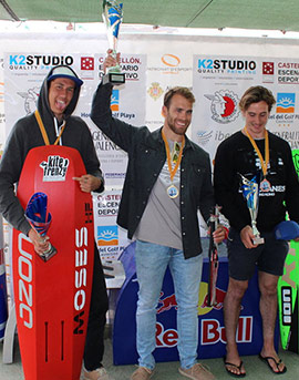 Alejandro Climent conquista las Fórmula Kite Spain Series Castellón 2018