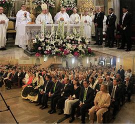 Misa pontifical con motivo de la fiesta de la Mare de Déu del Lledó