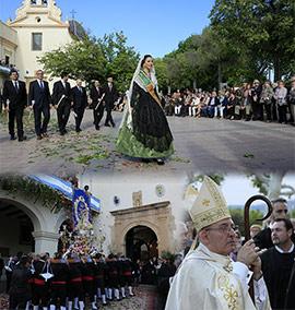 Procesión de las fiestas patronales de la Mare de Déu del Lledó