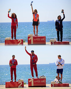 Ceremonia de clausura del Campeonato del Mundo de Trail