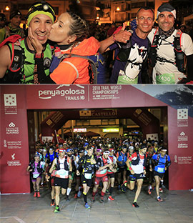 Salida de la carrera más larga de la Penyagolosa Trails, la CSP
