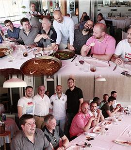 El TAU Castelló celebra el fin de temporada en el Restaurante Puerta del Sol de Oropesa