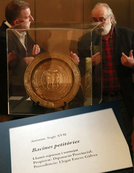 Presentación de la pieza del trimestre y la pieza invitada en el Museo de Bellas Artes de Castellón