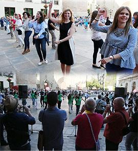 XI Aniversario del Ball Perdut en la Plaza Mayor de Castellón