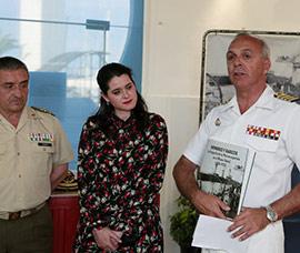 Inauguración de la exposición Hombres y barcos, la fotografía de la Marina española