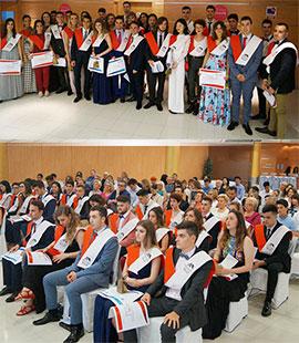Gala de graduación de Bachillerato de Agora Lledó International School