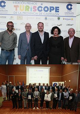 Entregados los II Premios TurisCope Castellón