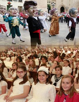 Celebración del Corpus en Castellón