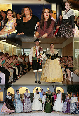 V Mostra i desfilada de roba tradicional a Castelló