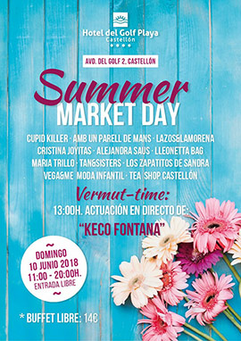 El Hotel del Golf Playa celebra el Summer Market Day