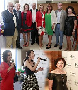 Éxito en la merienda solidaria contra el cáncer de la AECC de Castellón