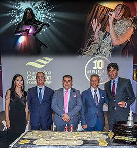 Gran Casino Castellón celebró su décimo aniversario
