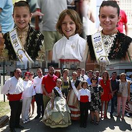Mascletá iniciadora de la LXVI edición de fiestas de Sant Pere