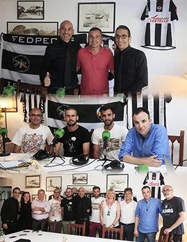 Castellón en la Onda celebra el ascenso del CD Castellón en el Restaurante Mediterráneo