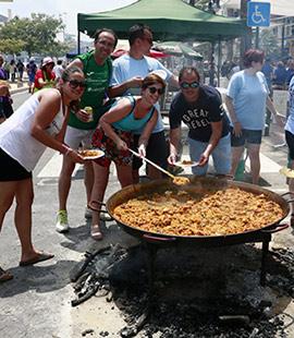 Día de las paellas en el Grao de Castellón