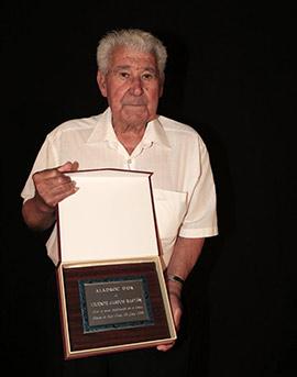 Entrega del premio Aladroc d´Or 2018 a Vicente Campos Bastan