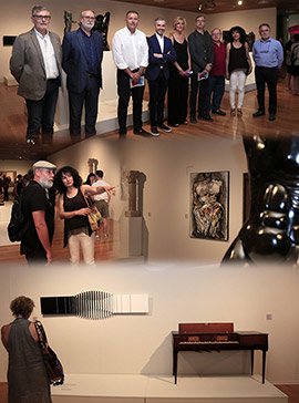 Diálogo entre las obras del Museo de Bellas Artes de Castellón y el MACVAC