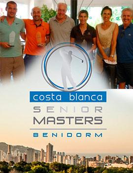 Circuito Amateur Costa Blanca Benidorm Senior Masters 2018 en el Club de Campo Mediterráneo