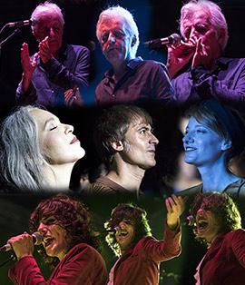 Conciertos de Kiko Veneno y La Banda del Retumbe y Aurora & The Betrayers