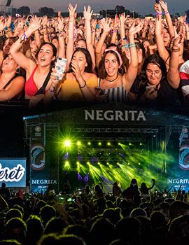 Imágenes del Arenal Sound