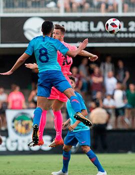 Imágenes del amistoso CD Castellón - Atlético de Madrid B