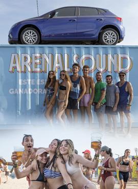 Imágenes del sábado del Arenal Sound
