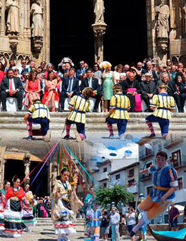 El Ayuntamiento y el Clero abren el novenario festivo del 54 Sexenni de Morella