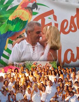 Fiesta Blanca de Juan Carlos y Amparo verano 2018